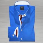 Royal Plain Blue Shirt