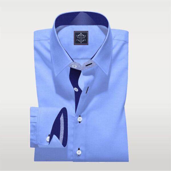 Sky Blue Broadcloth Shirt