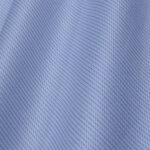 Light Blue Self Pin Stripes Twill Fabric