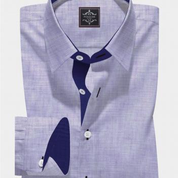 Redondo Purple Linen Shirt