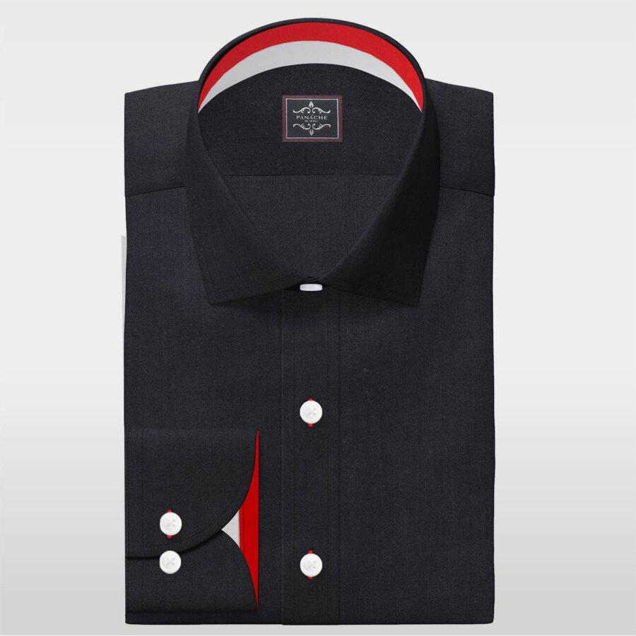 Black Broadcloth Shirt