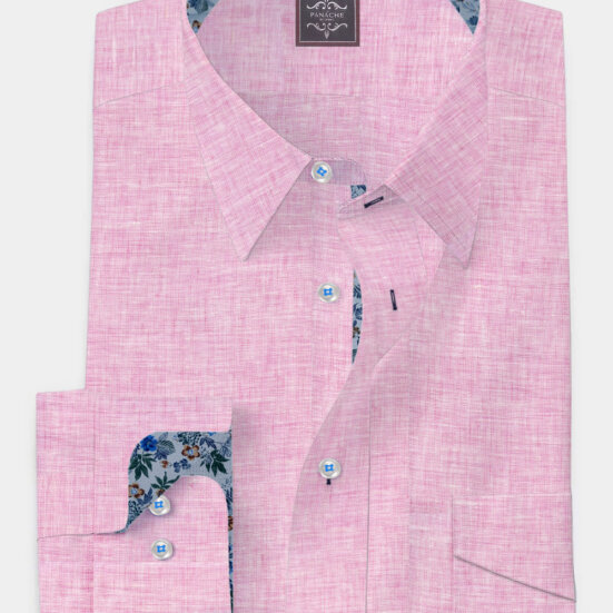 Faded Rose Linen Shirt