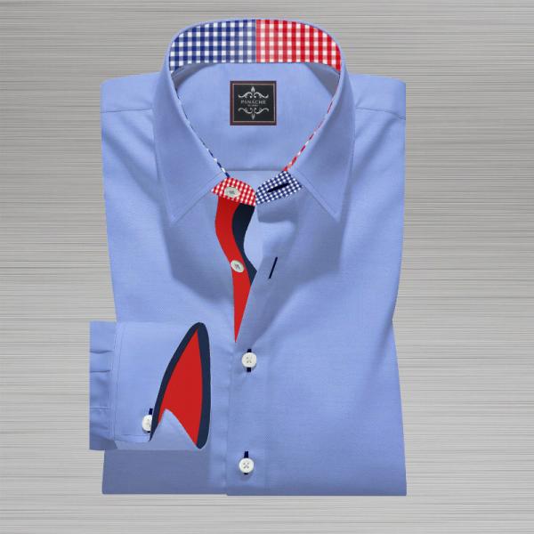 Light Blue Broadcloth Shirt