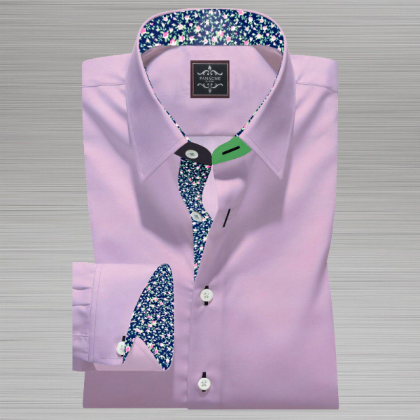 Light Pink Dobby Shirt