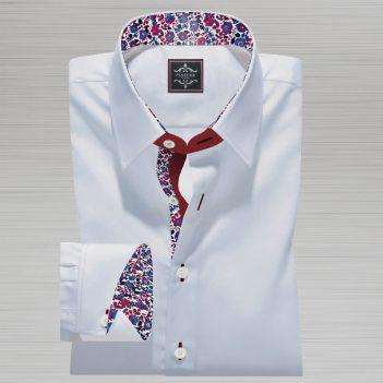 Luxury-White Royal Oxford Shirt