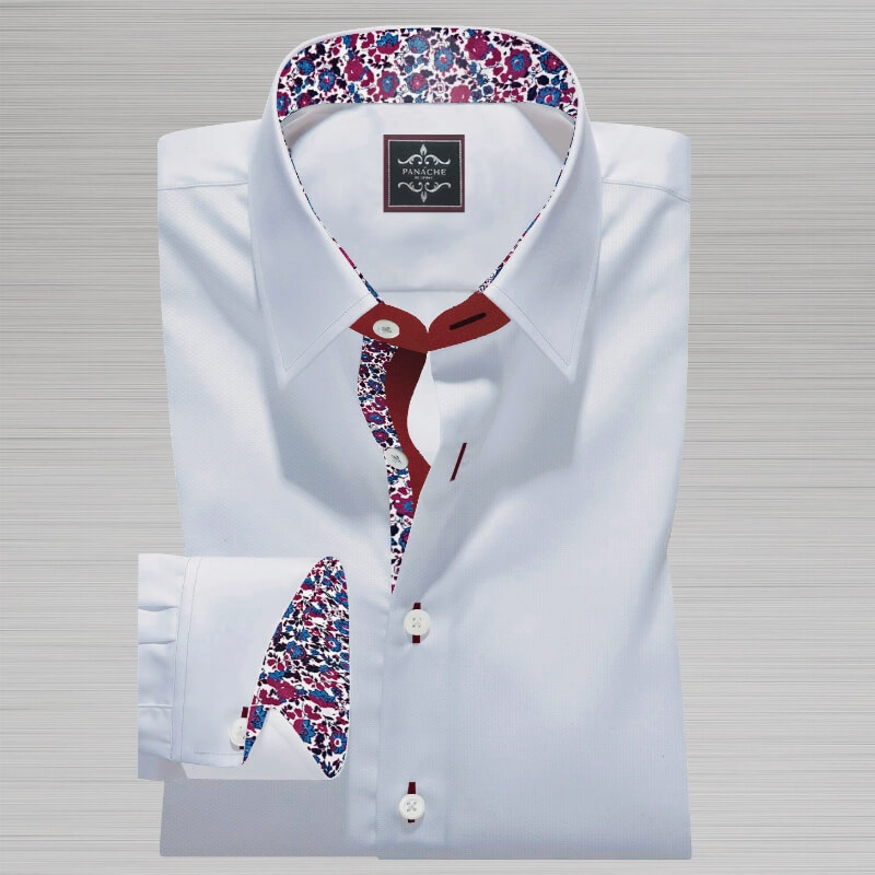 Luxury-White Royal Oxford Shirt
