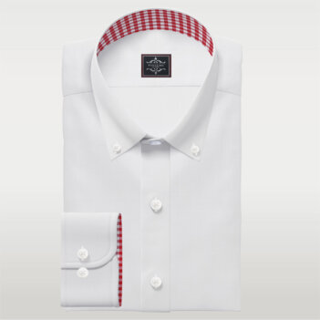Button Down White Mens Dress Shirts