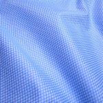 mid blue dobby fabric