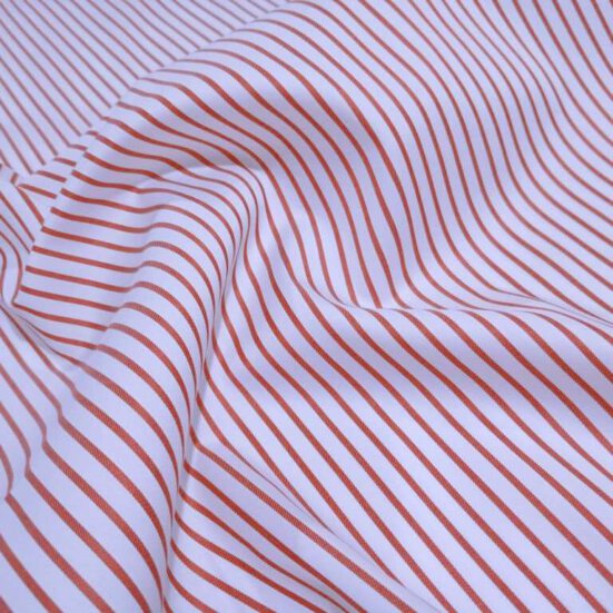 Custom Made Red Stripes Shirt