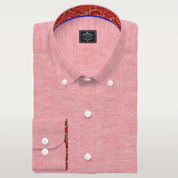 Light Pink Button Down-Shirt