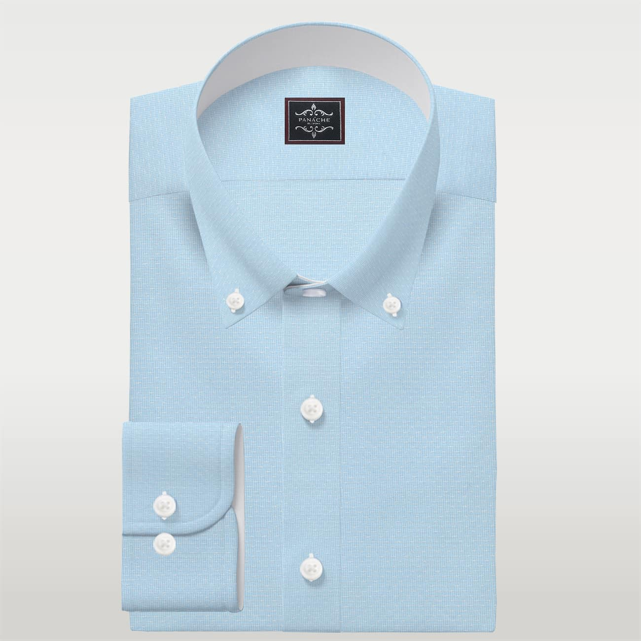 Self Sky Blue Shirt