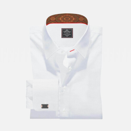 Luxury Twill White Shirt