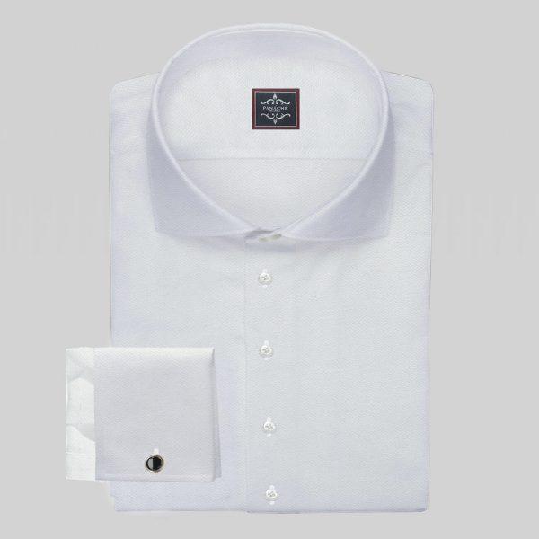 Royal Oxford White Shirt