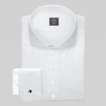 Luxury White Royal-Oxford Shirt
