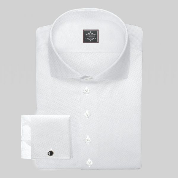 Luxury White Royal-Oxford Shirt