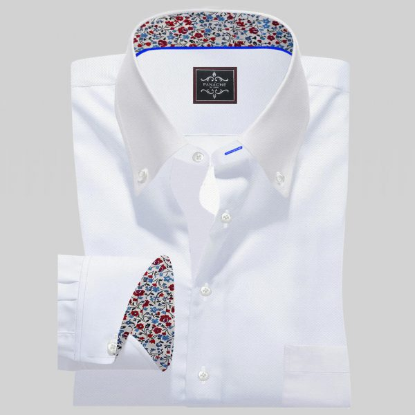 Luxury White Oxford Shirt