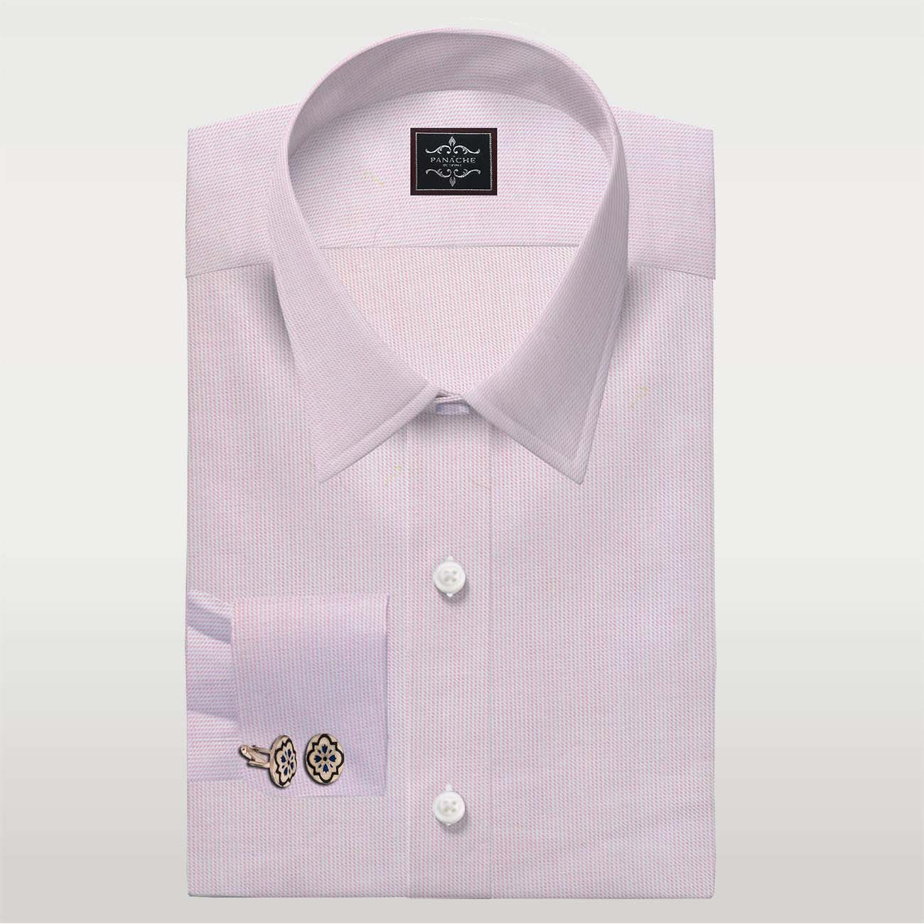 Baby Pink Dobby Shirt