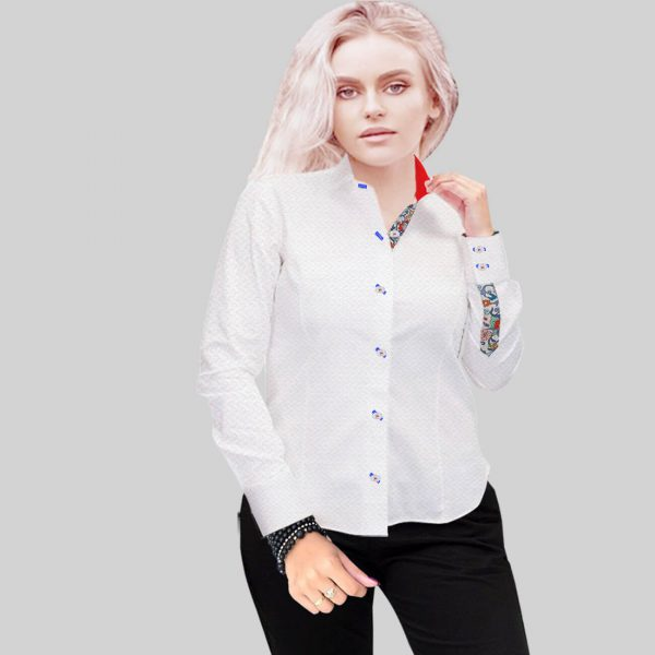 White luxury shirt