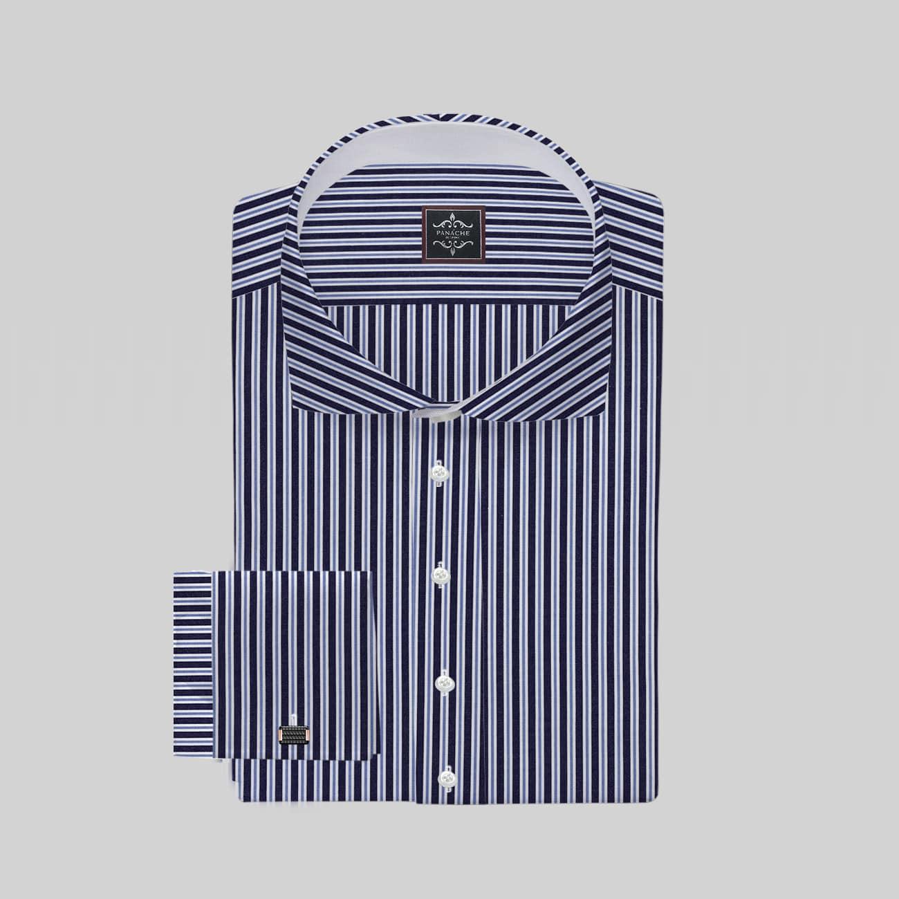 Black Multi Stripes Shirt