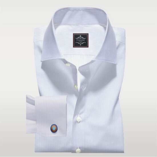 Luxury White Dobby Shirt