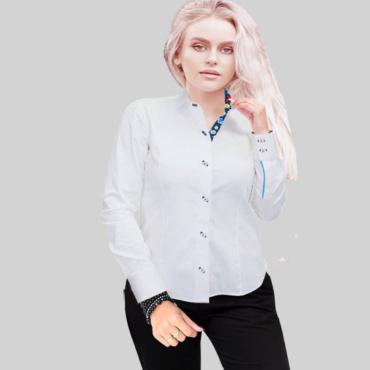 White Royal Oxford Shirt