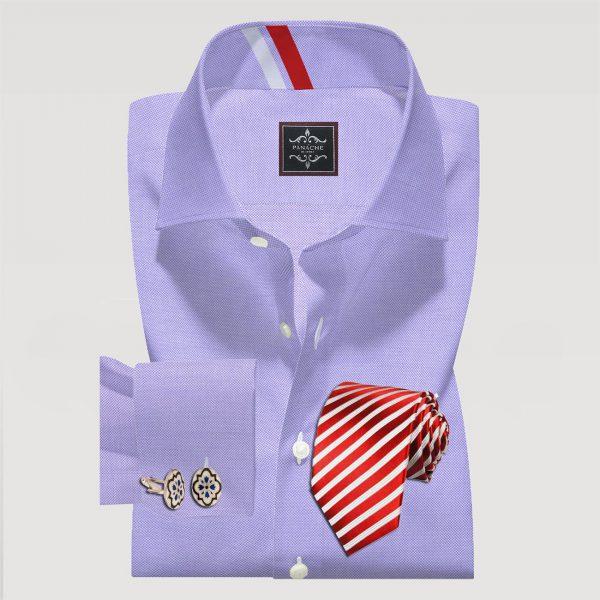 Lilac Oxford Formal Shirt