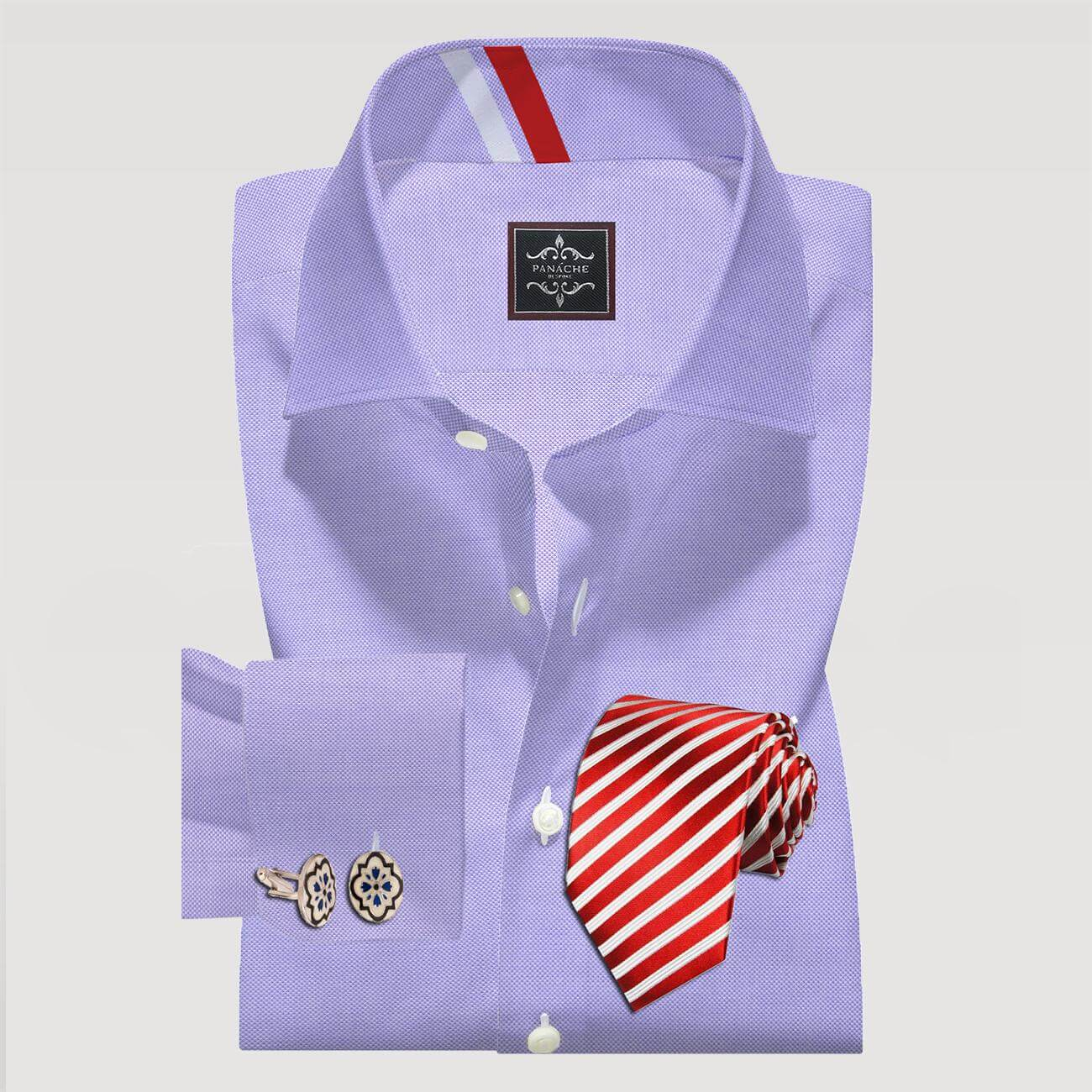 Lilac Oxford Formal Shirt