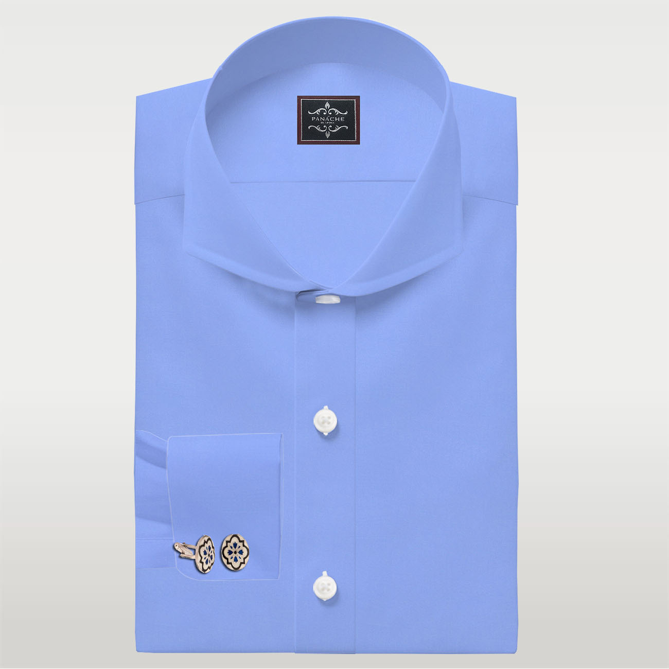 Luxury light Blue Shirt