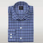 Multi Color Check Poplin Custom Made Shirt Mens Custom Dress Online Shirts