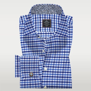 Multi Color Check Poplin