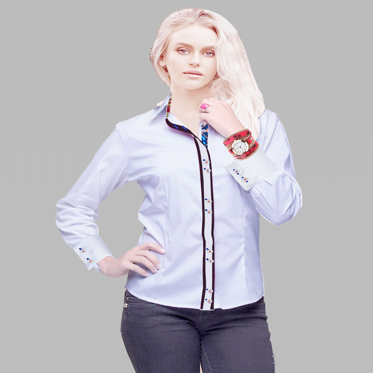 white women fashion shirt