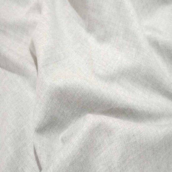 Silver Grey Twill Shirt Flannel
