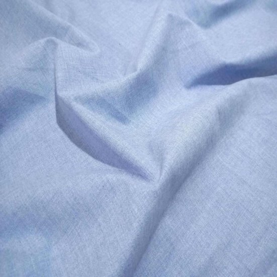 Grayish Blue Flannel Shirt