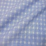 Blue Self Small Check Houndstooth Shirt 1