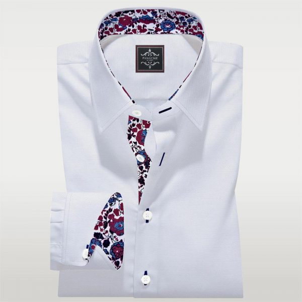 Luxury White Tailor Made Shirt