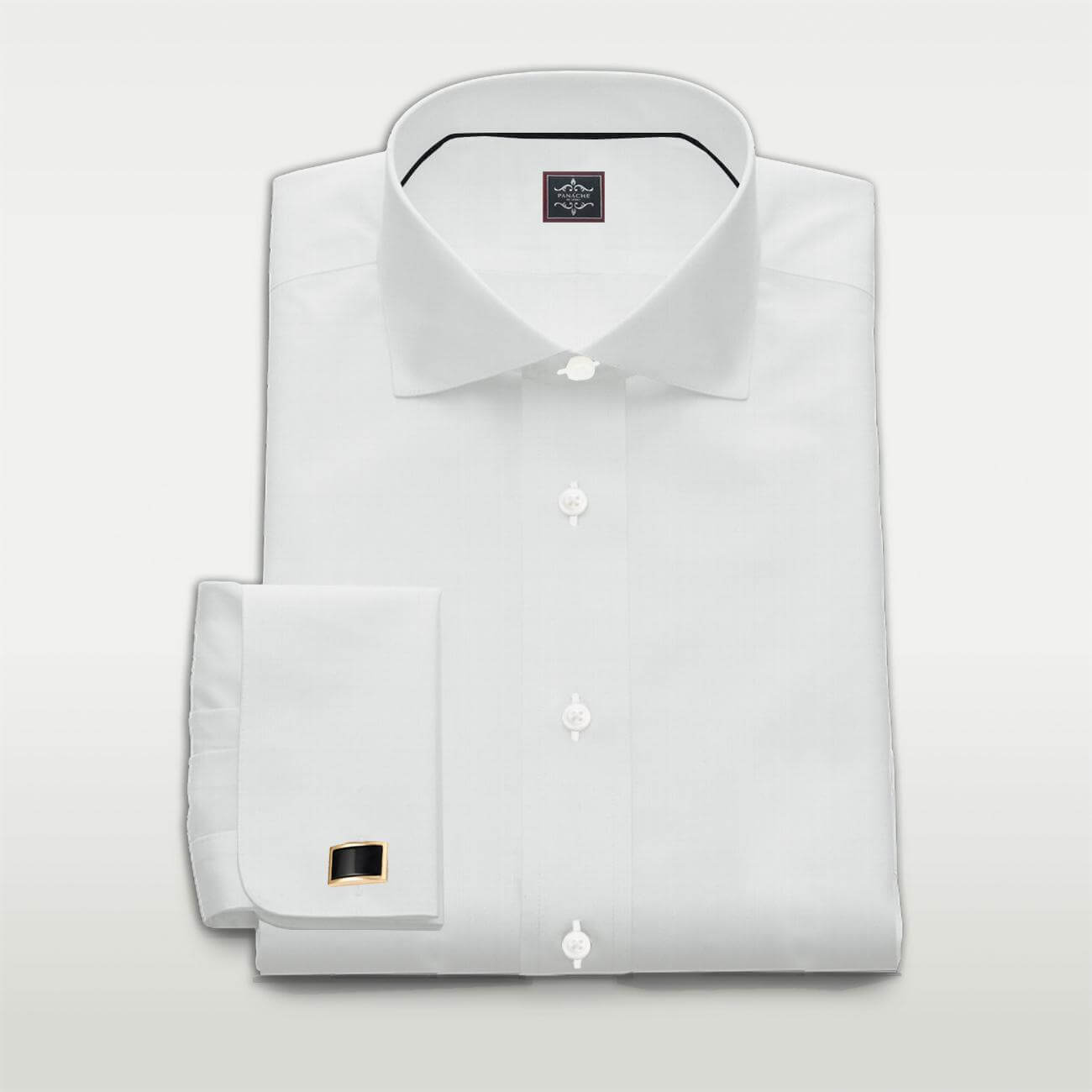 Poplin White Custom Made Shirt