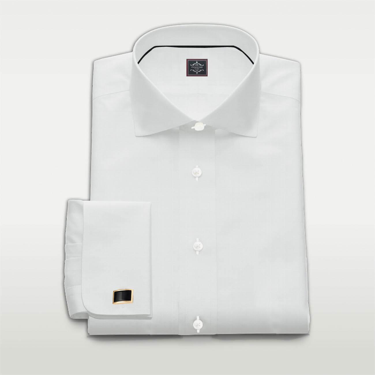 Poplin White Custom Made Shirt