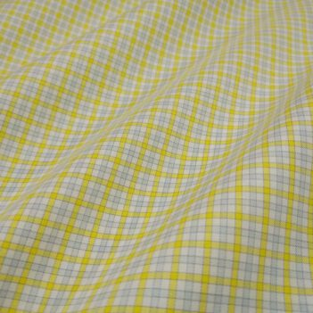 Luxury Yellow Checkered Shirt