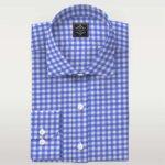Custom Made Shirts Blue Oxford