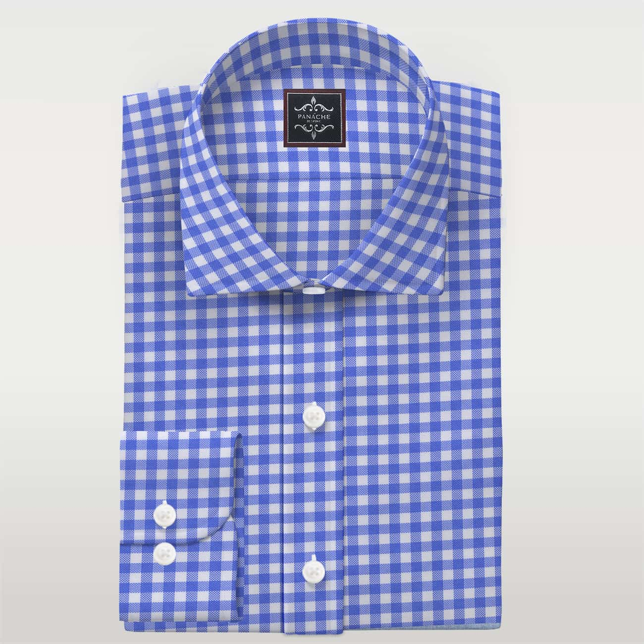 Custom Made Shirts Blue Oxford