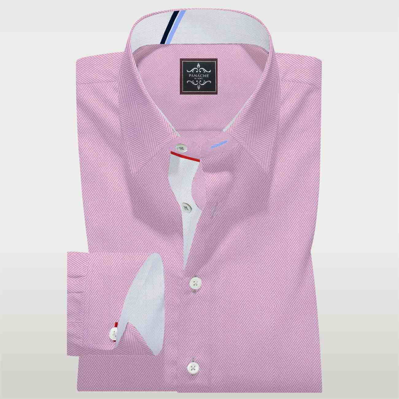 Royal Pink Custom Made Shirt