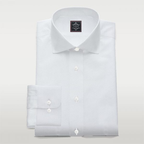 White Royal oxford Business shirt