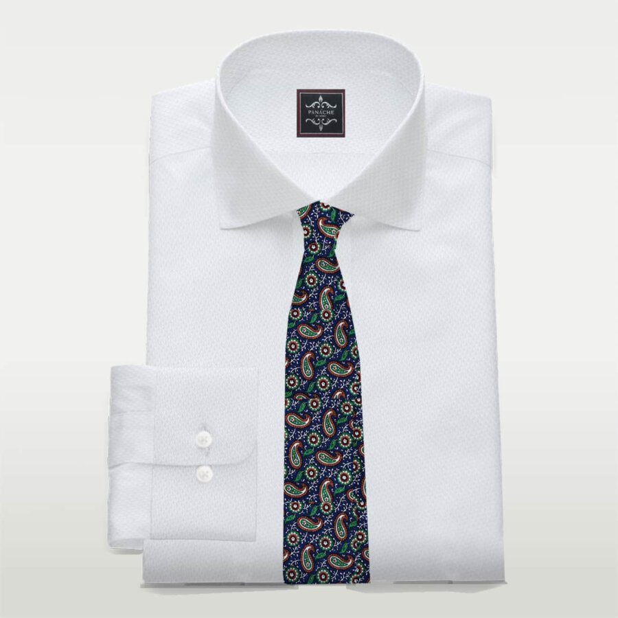 White Royal oxford Business shirt