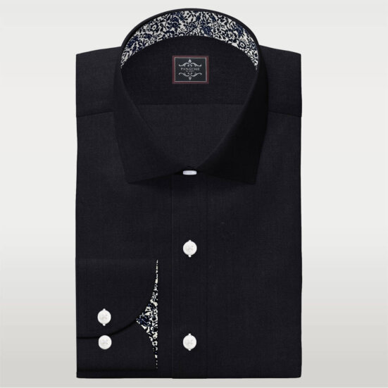 Black Men's Dress Shirt