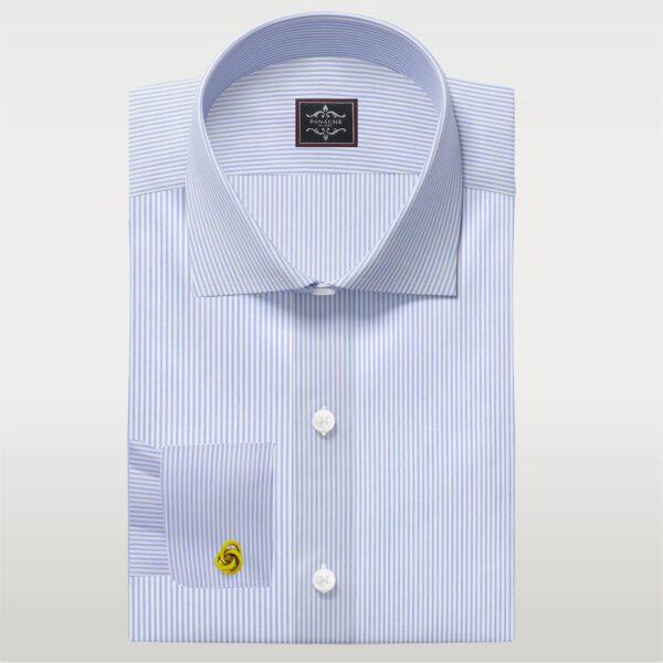 Light Blue Fine Stripes shirt