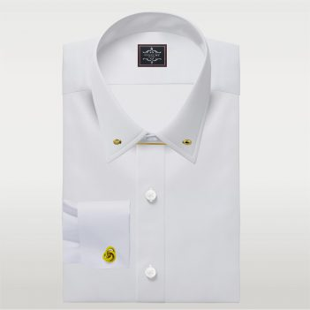 Mens Dress shirts Pin Collar Dress shirt