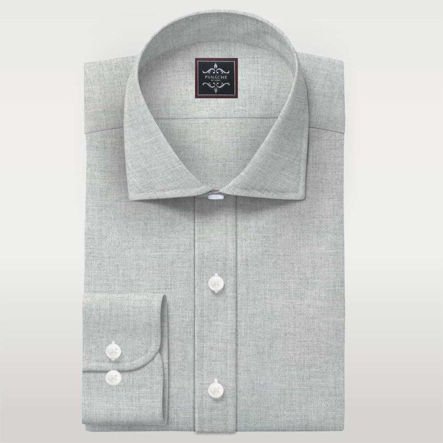 Flannel light grey Shirt