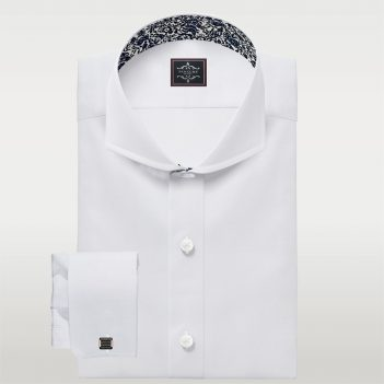 CutAway Luxury Twill Shirt Mens custom shirts