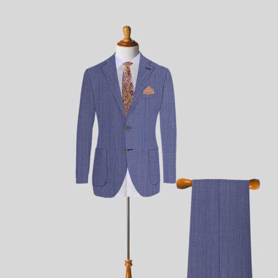 Light Blue Mens Suit