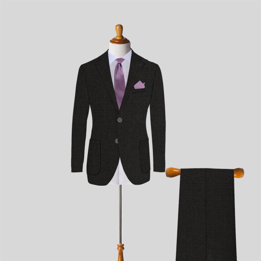 Dark Gray Mnes suit